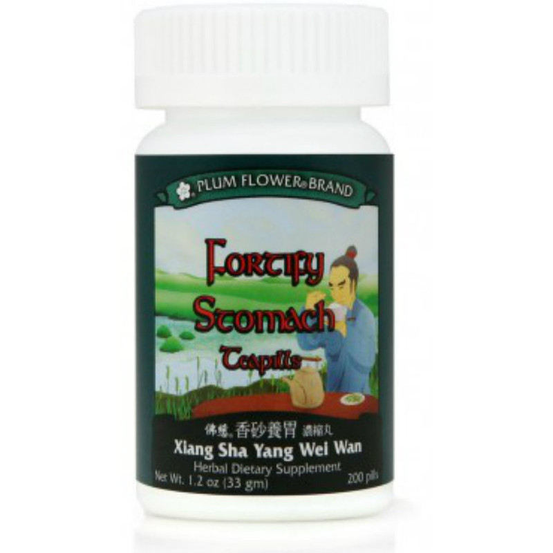 Fortify Stomach Teapills (Xiang Sha Yang Wei Wan) - 200 Pills/Bottle - Plum Flower Brand