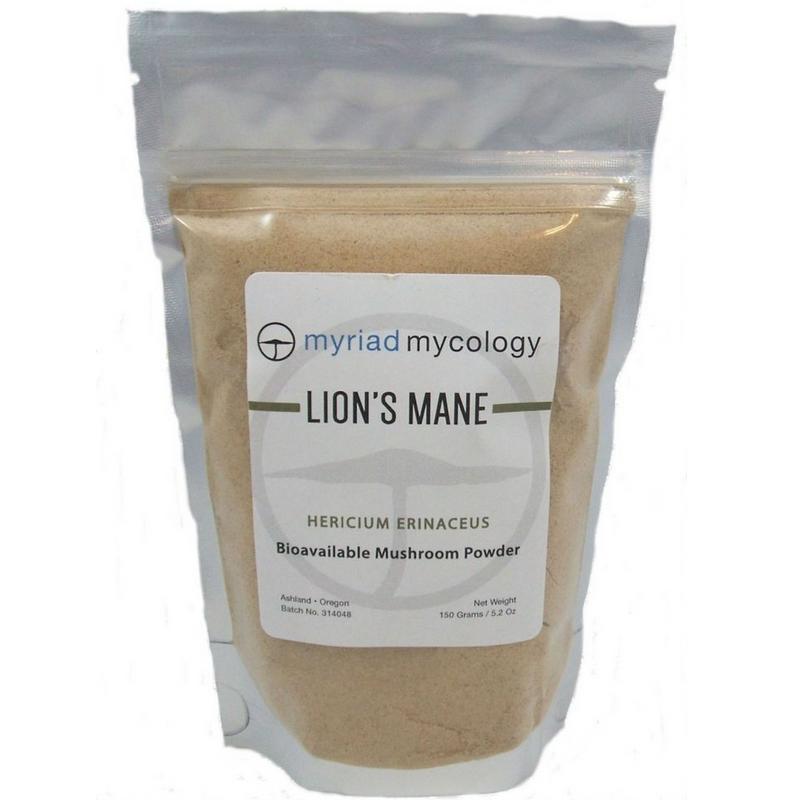 Lion's Mane (Hou Tou Gu) Myriad Mycology Powder 5.2 oz
