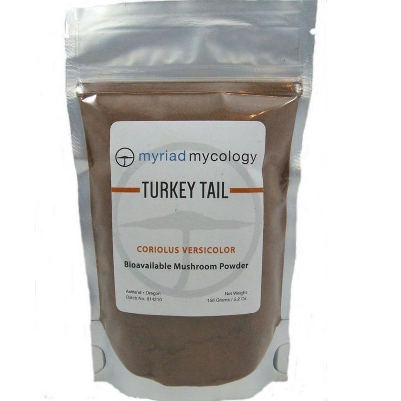 Turkey Tail by Myriad Mycology 5.2 oz