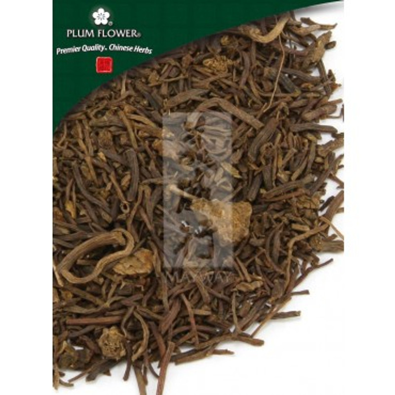 Aster Root (Zi Wan) - Cut Form 1 lb. - Plum Flower Brand