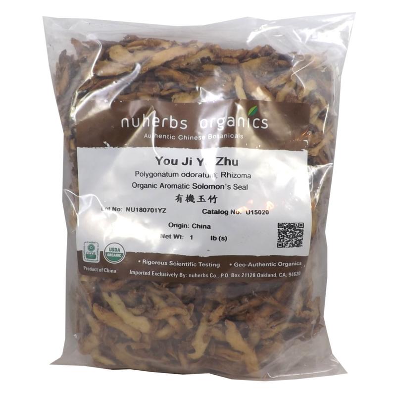 Nuherbs Organic Yu Zhu in Cut Form