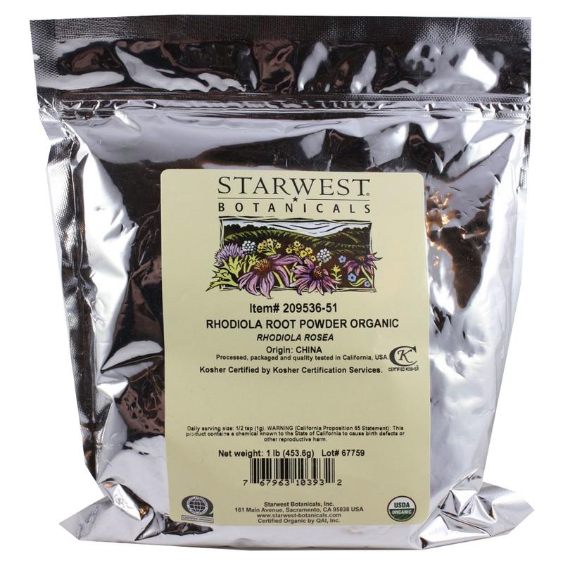 Rhodiola Powder Organic