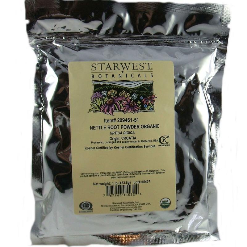 Nettle Root Organic Powder