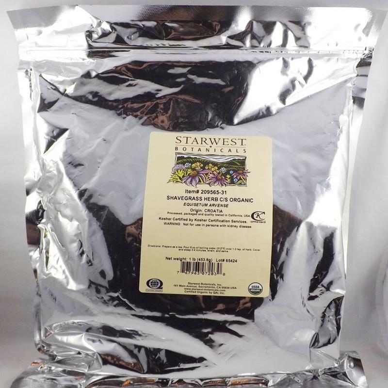 Shavegrass Herb - Horsetail, Equisetum arvense