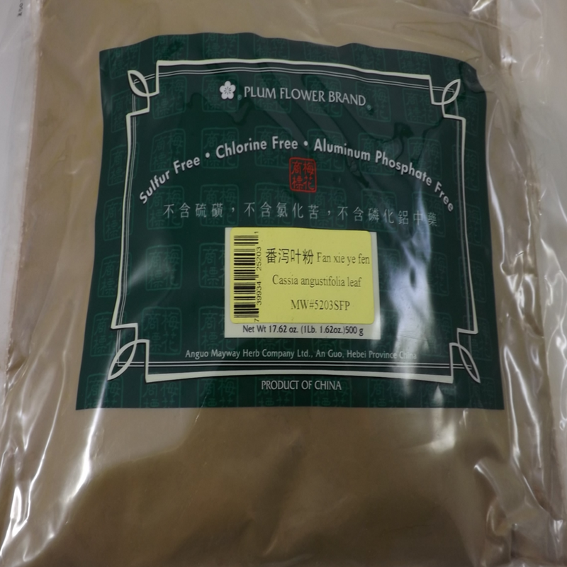 Senna Leaf, Fan Xie Ye,  Plum Flower Powder 1lb