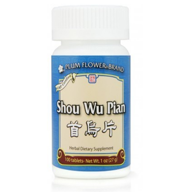 Shou Wu Pian - Tablets