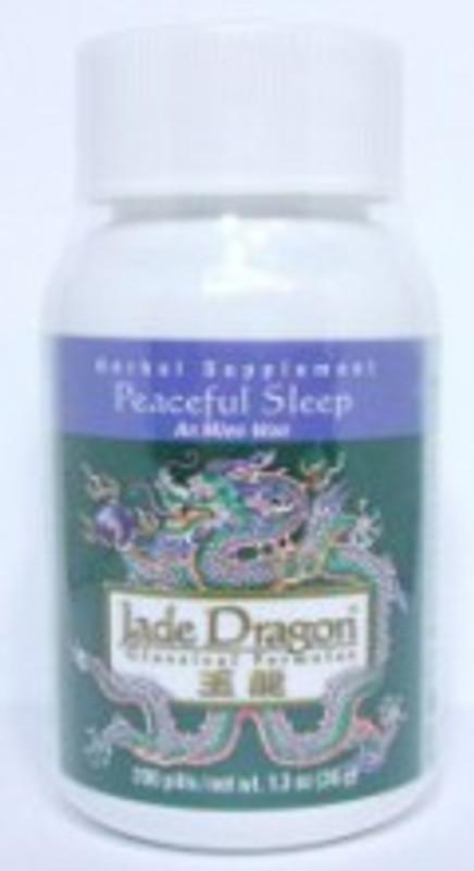Peaceful Sleep Teapills (An Mien Wan) - 200 Pills/Bottle - Jade Dragon Brand