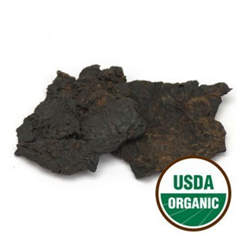 Rehmanniae Root Cooked/Prepared, Sliced, Organic, Sulfite free - Shu Di Huang, Starwest brand, cut form 1lb