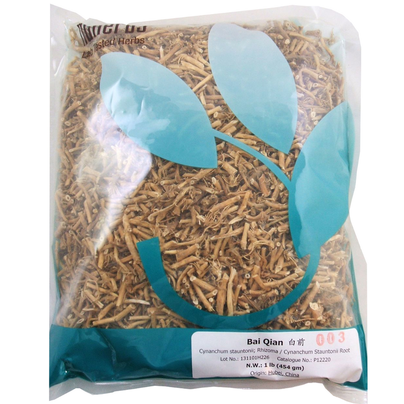 Bai Qian - Cynanchum Stauntoni Root - Nuherbs Lab-Tested - Cut Form