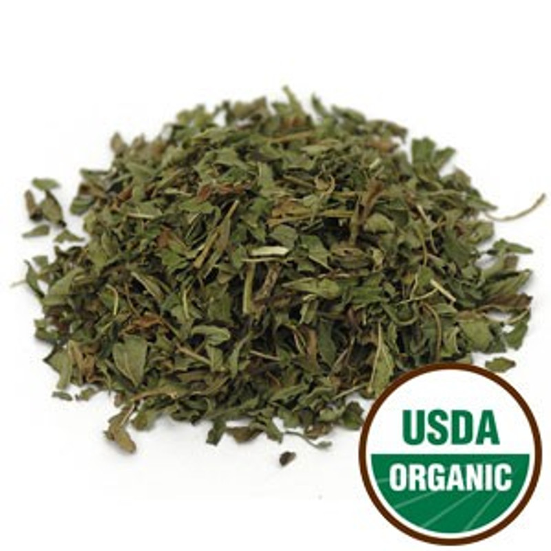 Organic Peppermint leaf bulk herb