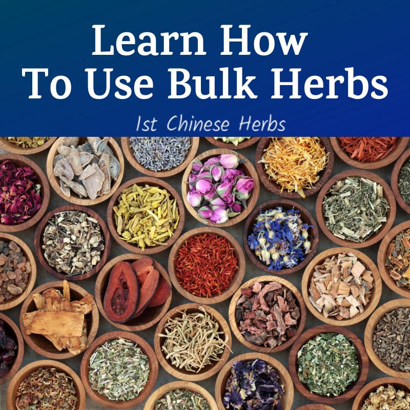 Learn How To Use Bulk Herbs