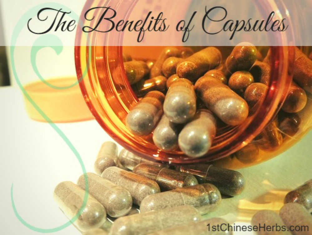 The Benefits of Capsules from 1stChineseHerbs