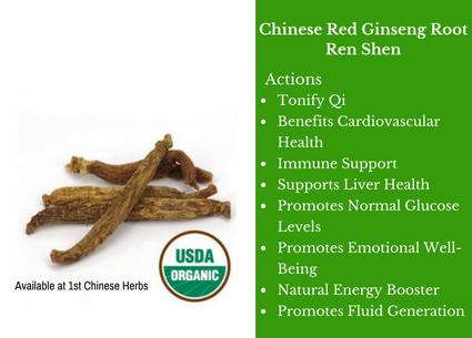 chinese red ginseng root, ginseng, ren shen, traditional bulk herbs, bulk tea, bulk herbs, teas, medicinal bulk herbs