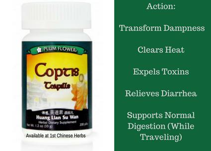 Benefits of Coptis Teapills