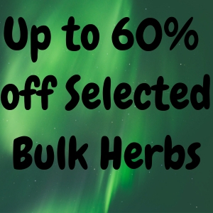 Save up to 60% off bulk herbs, herb sale, discounted herbs