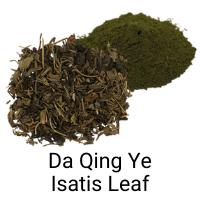 Da Qing Ye - Isatis Leaf - immune booster, COVID19 herb