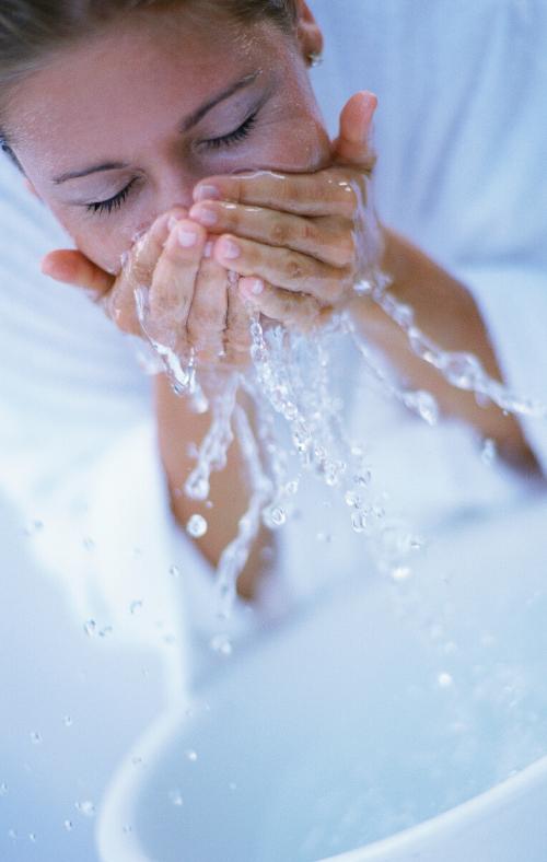 citrus face splash, herbal face rinse