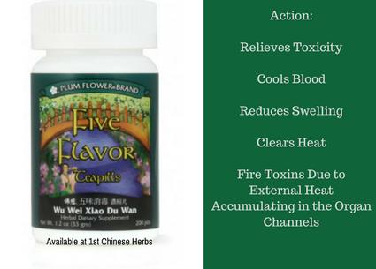 Benefits of Five Flavor Teapills