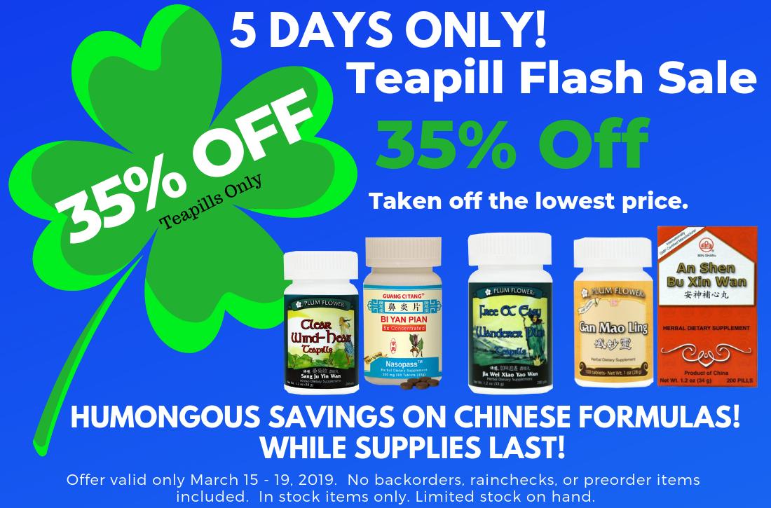 Teapill Flash Sale