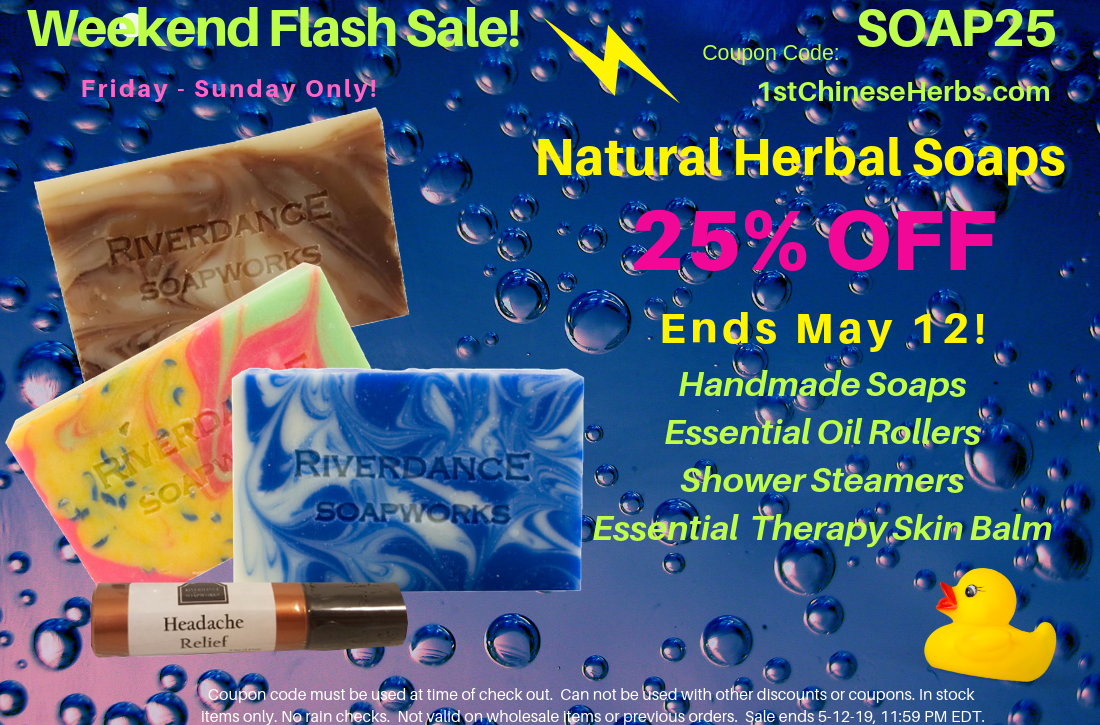 25% OFF All Riverdance Products & Handmade Herbal Soaps