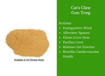 gou teng, cat's claw, traditional bulk herbs, bulk tea, bulk herbs, teas, medicinal bulk herbs
