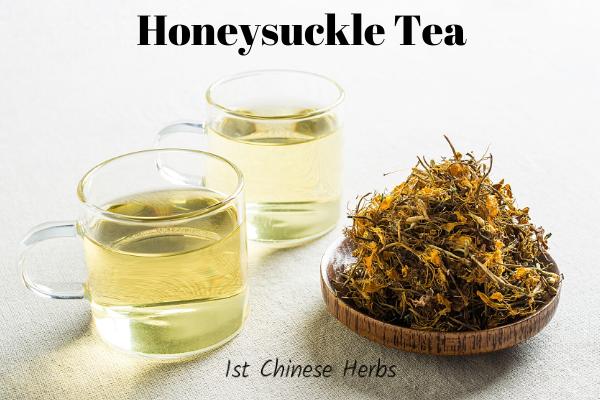 how to make healing honeysuckle tea.