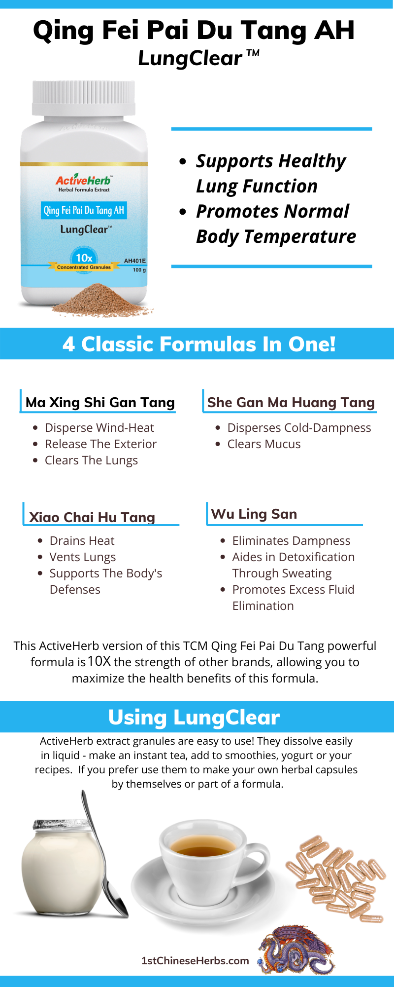 TCM herbal formula for lung function, Chinese herbs for lungs, Chinese herbal extract for covid19, Chinese herbs for flu, herbs for pneumonia
