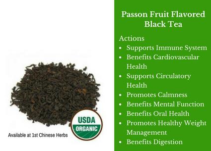 passion fruit, black tea, passion tea, traditional bulk herbs, bulk tea, bulk herbs, teas, medicinal bulk herbs