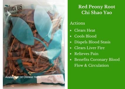 red peony root, red peony, chi shao yao, nuherbs, traditional bulk herbs, bulk tea, bulk herbs, teas, medicinal bulk herbs