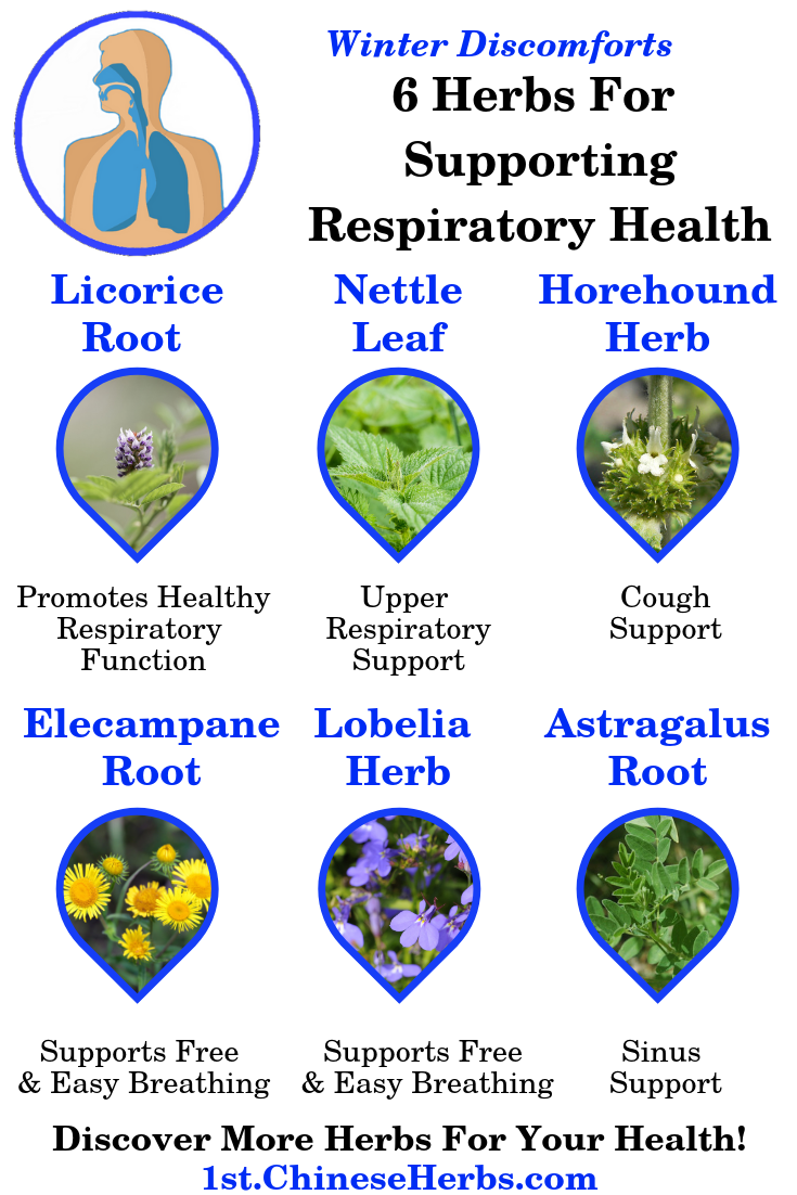 herbs for lungs, herbs for sinus, herbs for cough, herbs for congestion, herbs for phlegm