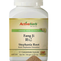 Close up of Stephania Root Extract