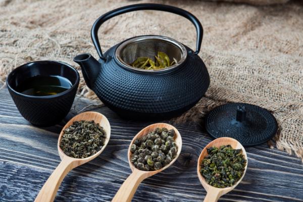 black tea, oolong tea, white tea, red tea, green tea, roobios tea, Chinese tea, herbal teal
