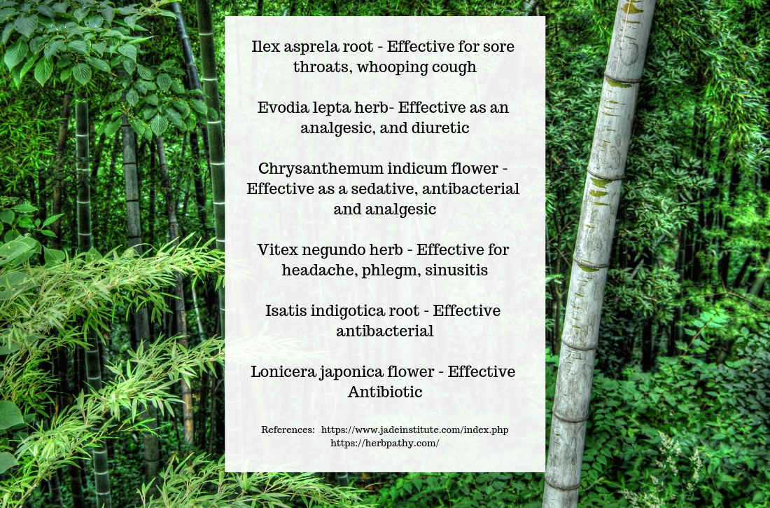 Winter Defense herbs and their benefits