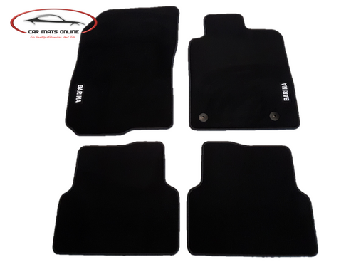Holden Barina TM Car Mat Set