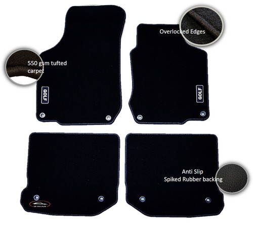 Golf 4 Mat Set