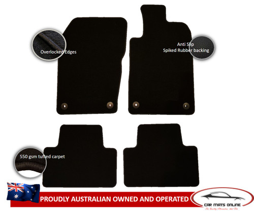 Jeep Grand Cherokee Car Floor Mats (2011 - On)
