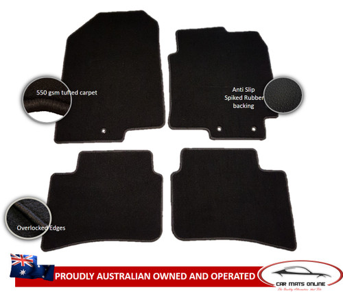 KIA Rio YB Car Floor Mats (2016 - On)