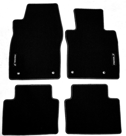 Mazda 3 Sedan & Hatch Car Floor Mats  (2019 - Current)