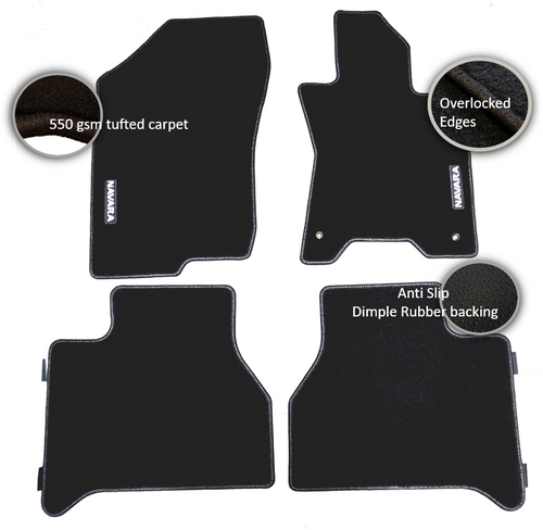 Nissan Navara Ute Car Floor Mats (2017 - Current)