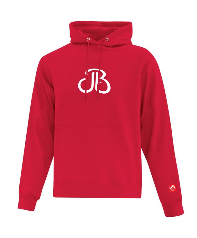 JB Plain Logo Hoodies