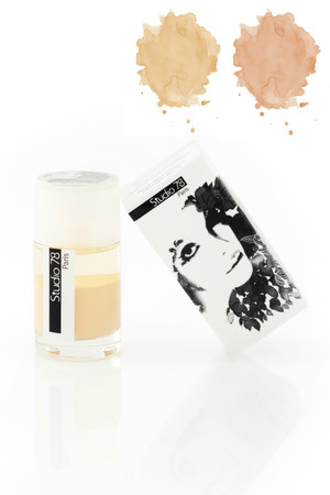 Studio 78 bi-phased fluid foundation