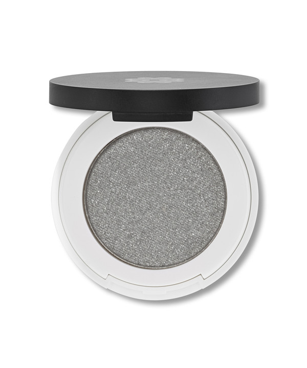 Lily Lolo Pressed Eyeshadow Silver Lining (silver shimmery Grey)