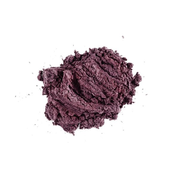 Lily Lolo Eyeshadow Choc Fudge Cake (Deep BROWN with purple sparkle)