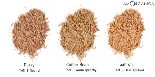 Lily Lolo Foundation TAN skin shades