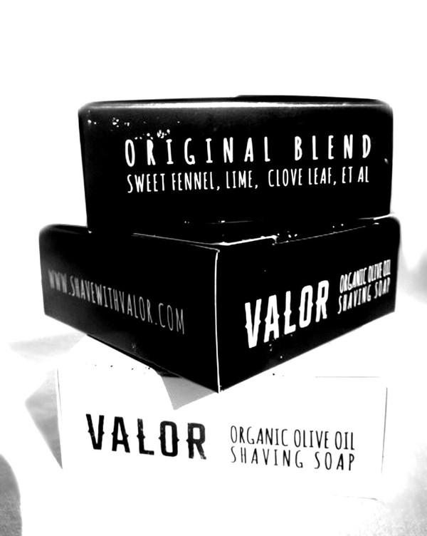 Valor Organic Shaving Soap | Artisan Made in Byron Bay