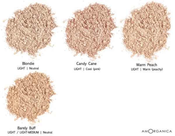 Lily Lolo Foundation LIGHT skin shades