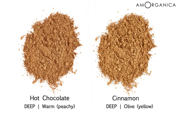 Lily Lolo Foundation DEEP TAN skin shades