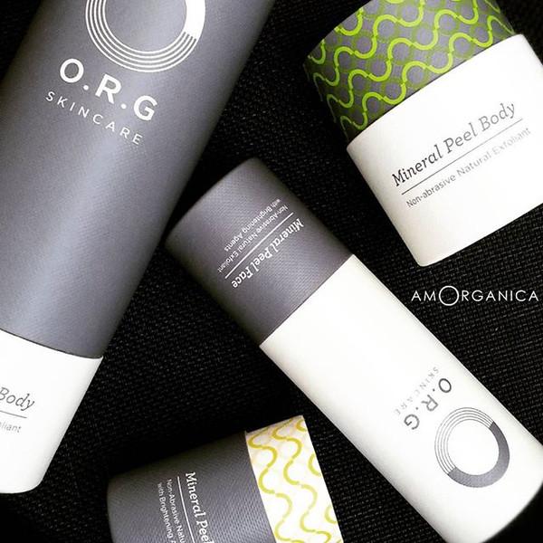 ORG skincare mineral peel