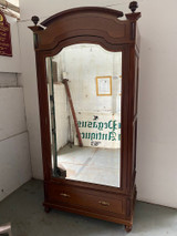 French mahogany antique armoire