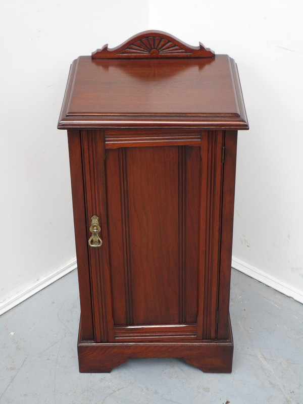 Australian red cedar antique bedside cupboard